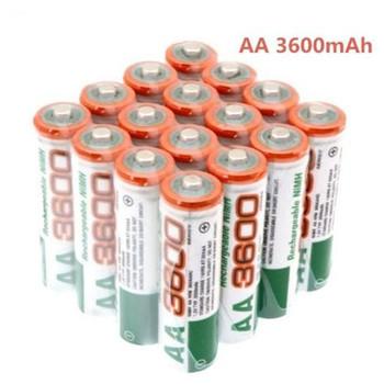 2020 Dolidada 100 nowa bateria AA 3600 mAh akumulator bateria 1 2 V Ni-MH AA nadaje się do zegarów myszy komputerów tanie i dobre opinie 3001-3500 mAh AA3600mah Baterie Tylko Pakiet 1