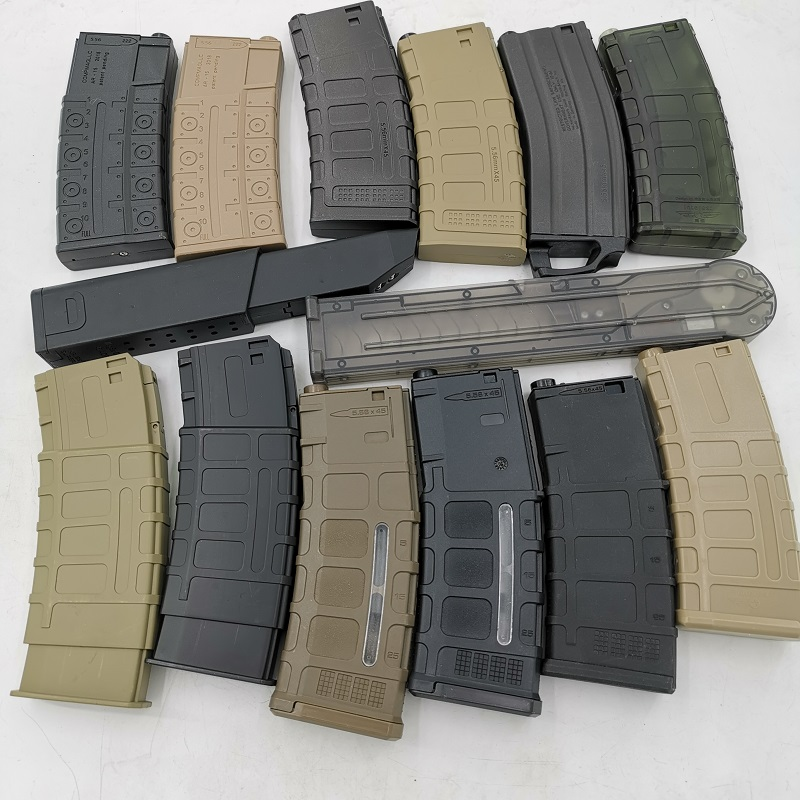 Magazines For Jinming 8th 9th 10th Scar Bingfeng P90 Telescopic Parts For Gel Blaster Modification