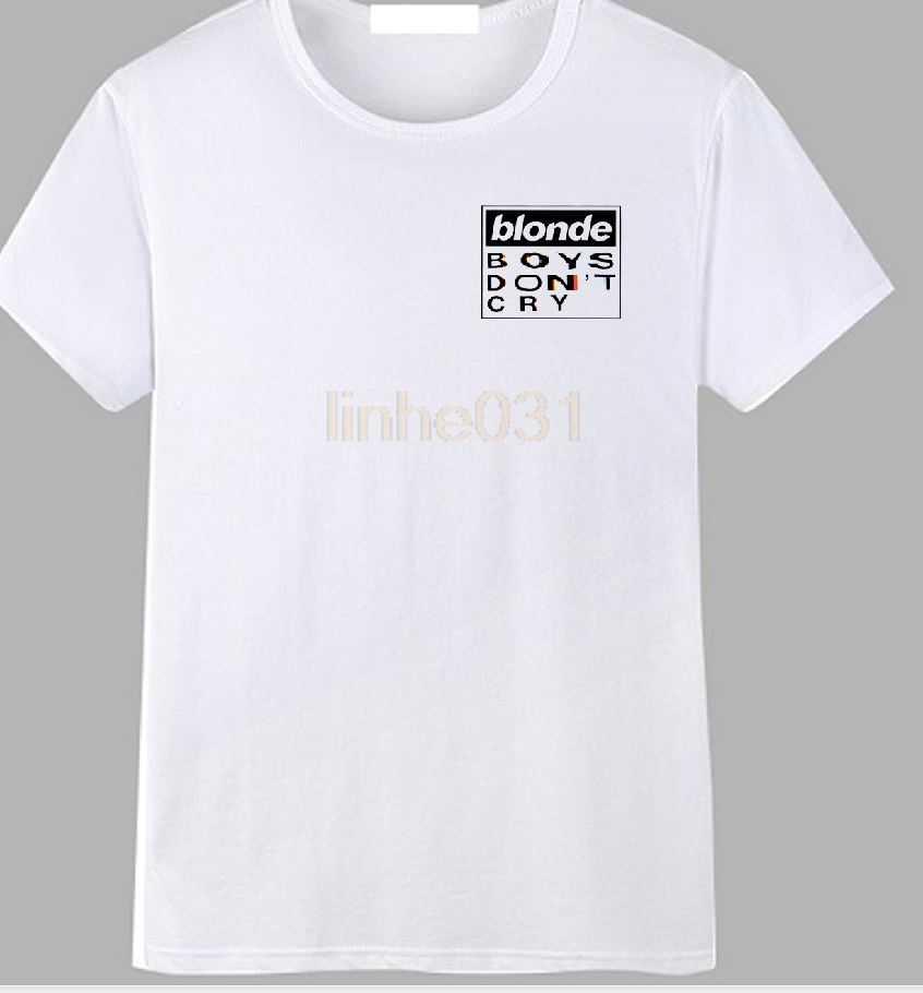 453f3ed2 blonde Boys Don't Cry Tour Chest Print T-shirt Frank Ocean Music Concert