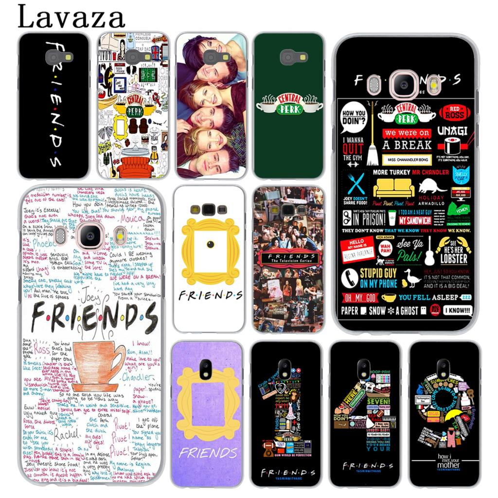 Lavaza Friends Season TV Hard Phone Cover Case for Samsung Galaxy J3 J1 J7 J5 2015 2016 2017 J2 Pro Ace J5 J7 Prime Cases