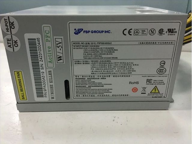 Server Power industrial computer power supply full voltage fsp300-60glc pfc