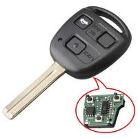 KEYECU New Remote Car key Fob TOY48 Blade With 4C Chip for Lexus ES300 GS300 GS400 GS430 IS300 LS400 FCC ID: HYQ1512V