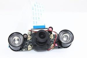 Image 4 - האחרון פטל Pi 3 דגם B + IR לחתוך מצלמה 5MP ראיית לילה יום ולילה מתג מצלמה מודול עבור rasberry Pi 2 דגם B