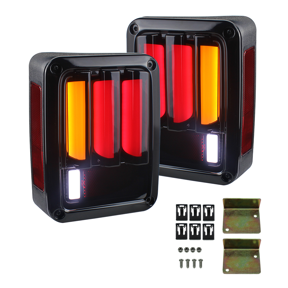 2X LED Rear Lamp Newest Tail Lights Reverse Lamp Brake Rear Signal Reverse Led Lamp Lights