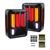 2X LED Rear Lamp, Newest Tail Lights, Reverse Lamp, Brake Rear Signal Reverse Led Lamp Lights EU style for Jeep Wrangler JK 07UP