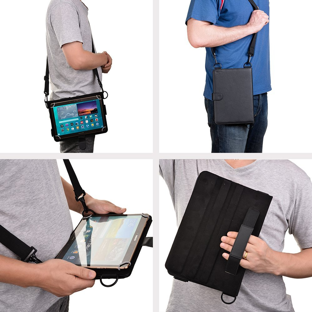 Folding Folio Case For 9 10 1 Tablets Cooper Magic Carry Universal Shoulder Strap In E Books From Computer Office On