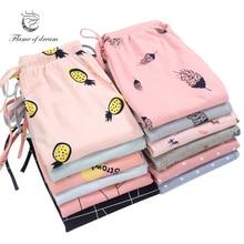 1 шт., домашние штаны для женщин, пижамные штаны, штаны для сна, 8696