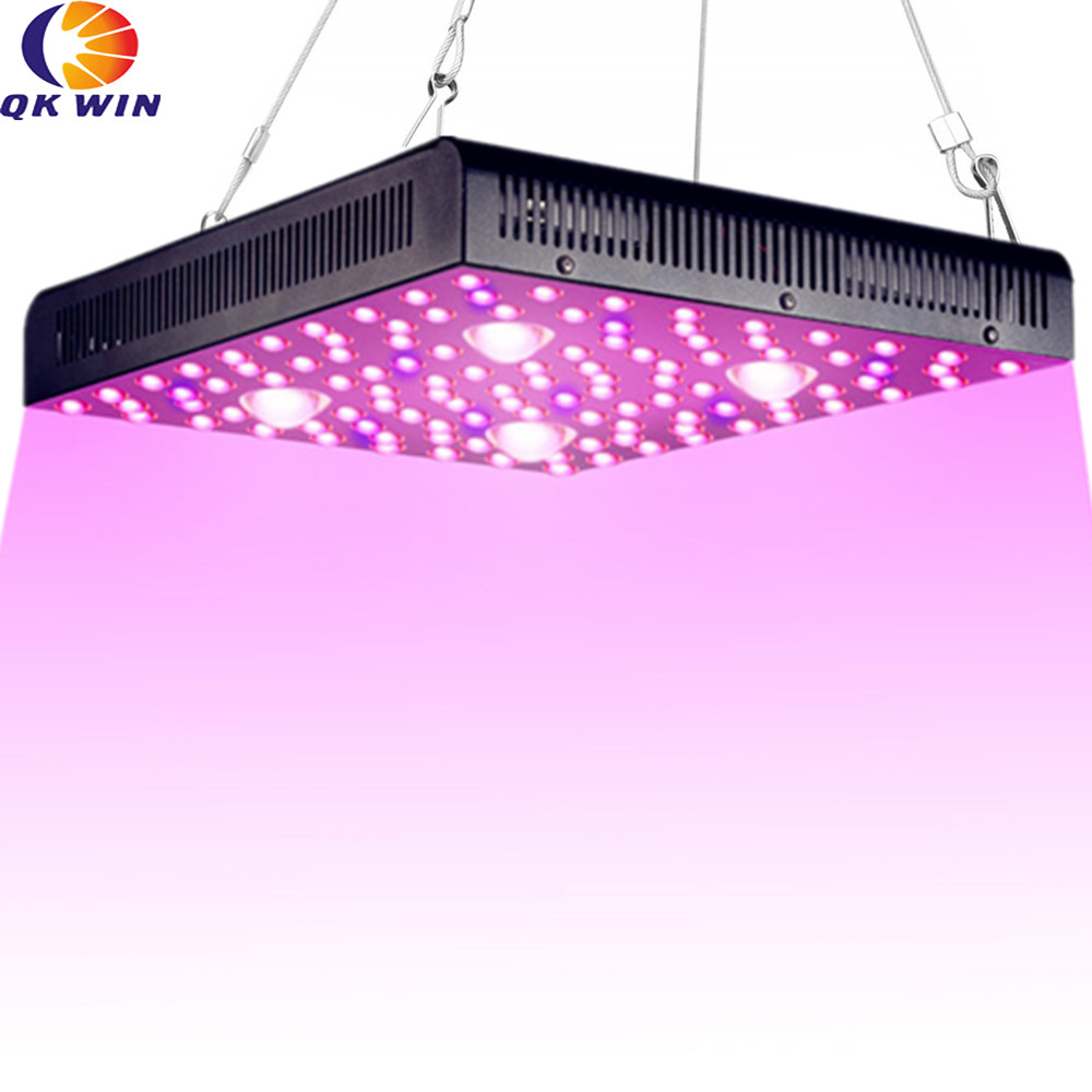 Qkwin MUSA COB Led Grow Light 2000W CREE Chip COB 400W True Power Add Double Chip Leds Dual LENS For High Par Value