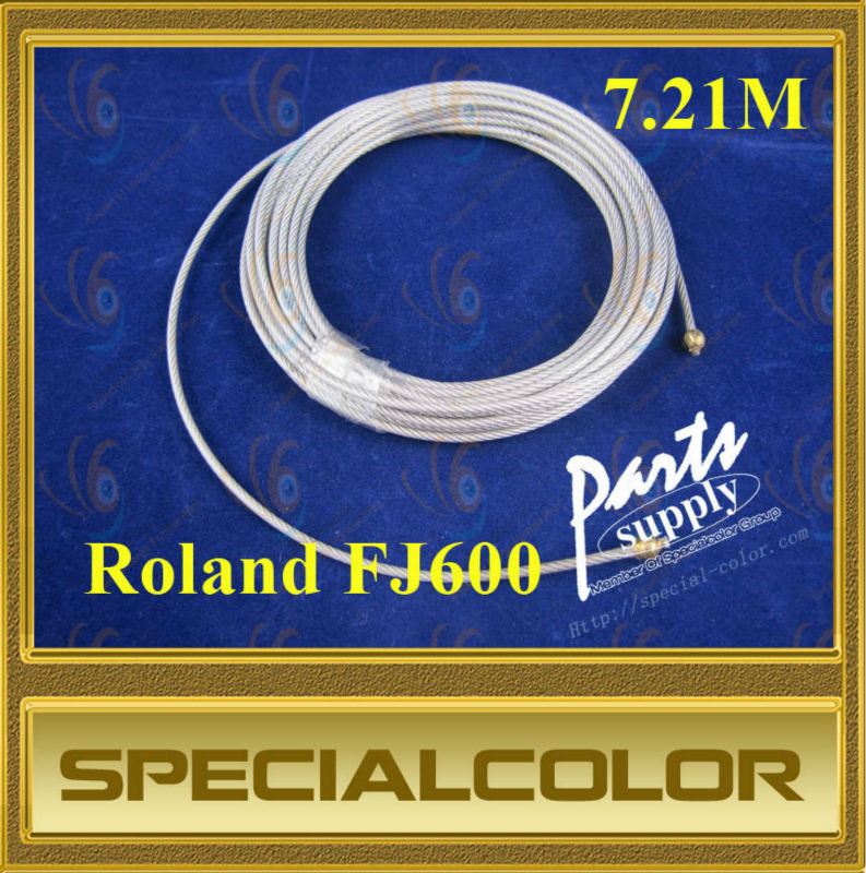 Carriage wire used for roland FJ600 printer roland vs640 take up system roland printer paper auto take up reel system for roland vs640 printer