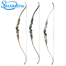 1set 30-60lbs Archery F166 Recurve Bow Set Hunting Right Hand Contain Arrow Rest Stabilizer And the wrench Long