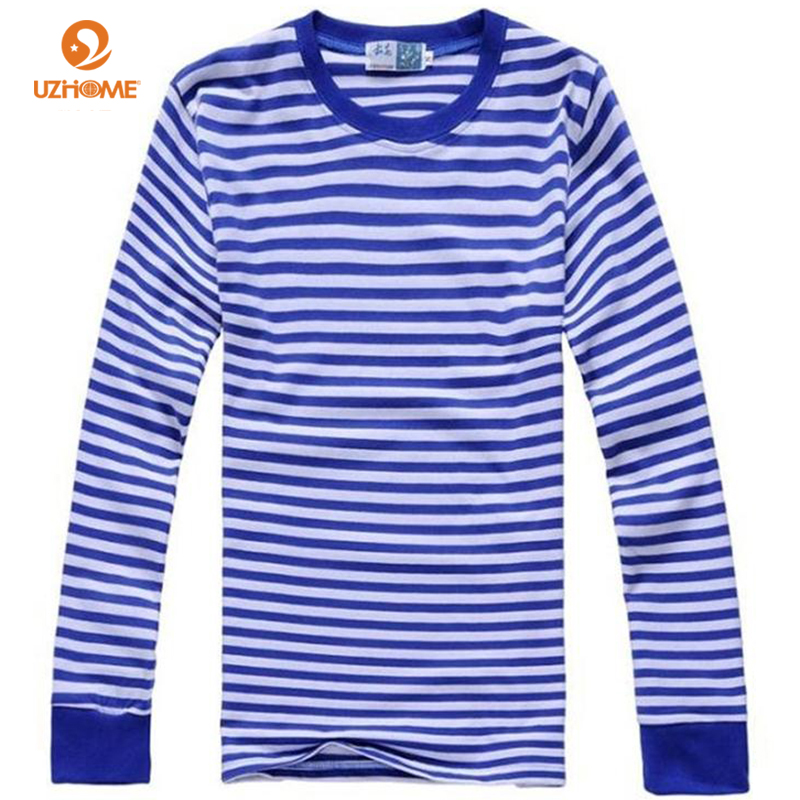 Popular Navy Blue and White Striped Shirt for Women-Buy Cheap Navy ...