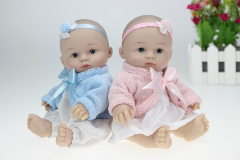 Superb 25cm Reborn Baby Doll Mini Full Silicone Girls Boys Baby Shower Dolls Safe  Silica Gel Kids Birthday Gift In Dolls From Toys U0026 Hobbies On  Aliexpress.com ...