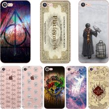 ciciber Harry Potter Cases for Iphone 6 6S 7 8 Plus 5S SE X XR XS MAX Soft Silicone TPU Phone Back Cover Coque Fundas Capa(China)
