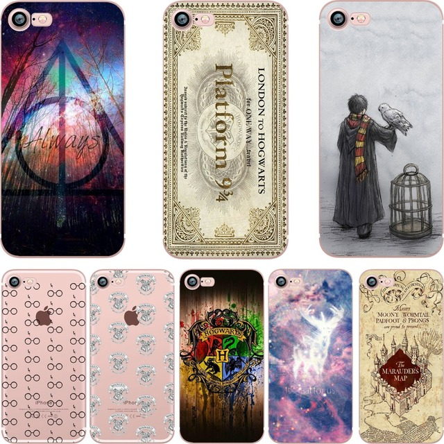 coque iphone 8 plus harry potter silicone