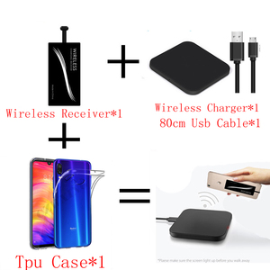 Image 3 - Qi Wireless Charger Pad for Xiaomi Mi 9 T 9T Case Mobile Accessories Charging Qi Wireless Receiver For Xaomi Mi9T Pro Mi9 T Pro
