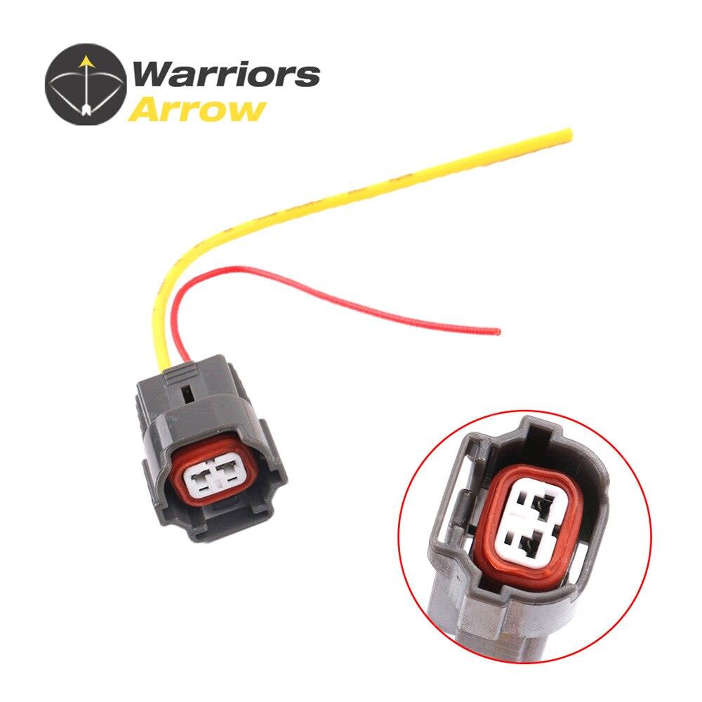 Warriorsarrow 2 Pin Fuel Injector Connector Plug Wire Harness For Vw 2014 Jetta 06a973722 Golf Polo Audi A4 A6 Skoda Seat