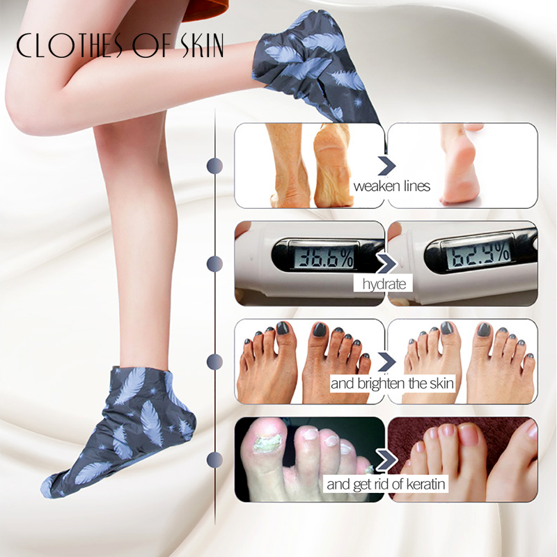 Volcanic Mud Remove Foot Exfoliating Foot Mask Whitening Anti-Aging Moisturizing Peeling Skin Socks Skin Care Clothes Of Skin 2