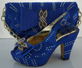 2017 Fashion Italian Shoes With Matching Bags Set For Wedding African Shoe And Bag Set For Women Fashion Pumps Shoes ME3306