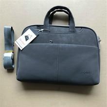 Nuevos bolsos de mano para mujer, maletines de cuero para hombre, bolsos de mensajero, bolso de hombro negro para ordenador, bolso de cuero para ordenador portátil para mujer