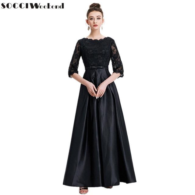 SOCCI Wochenende Vintage Abendkleider 2017 Muslimische Frau Spitze ...