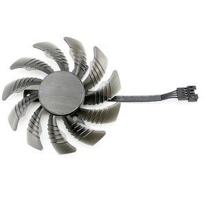 Image 5 - 75 ミリメートル T128010SU 0.35A 冷却ファンギガバイト AORUS GTX 1080 1070 Ti G1 ゲームファン GTX 1070Ti G1 ゲームビデオカードのクーラーファン
