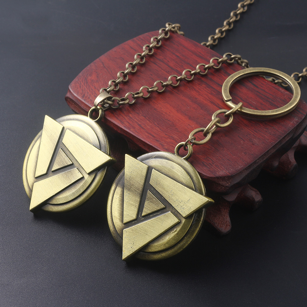 US $1 43 25% OFF|SG Hot Bronze Game Dota 2 Artifact Triangle Keychains Jugg  Mask Key Chains Holder Demon Butterfly Sword Men Keyring Chaveiro-in Key