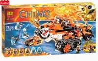 Tiger's Mobile Command 70224 Building Blocks Model Toys For Children BELA 10357 Compatible LEPINE Chimaed Bricks Figure Set