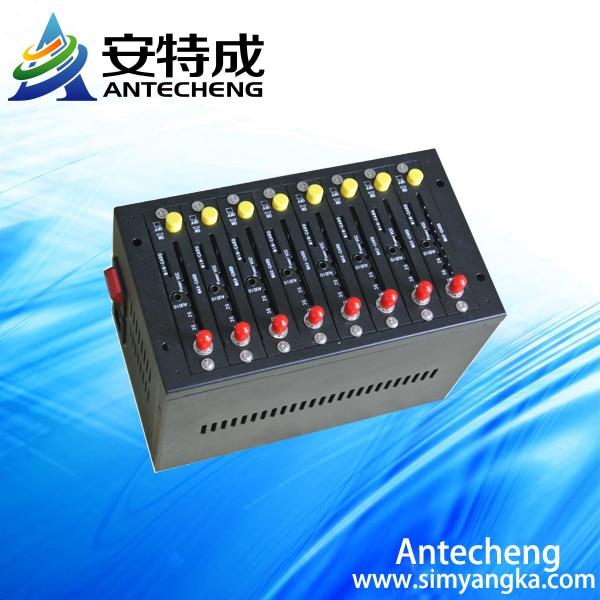 2016 Brand New Wavecom q2303 Simbox modem pool 8 port gsm sms marketing modem