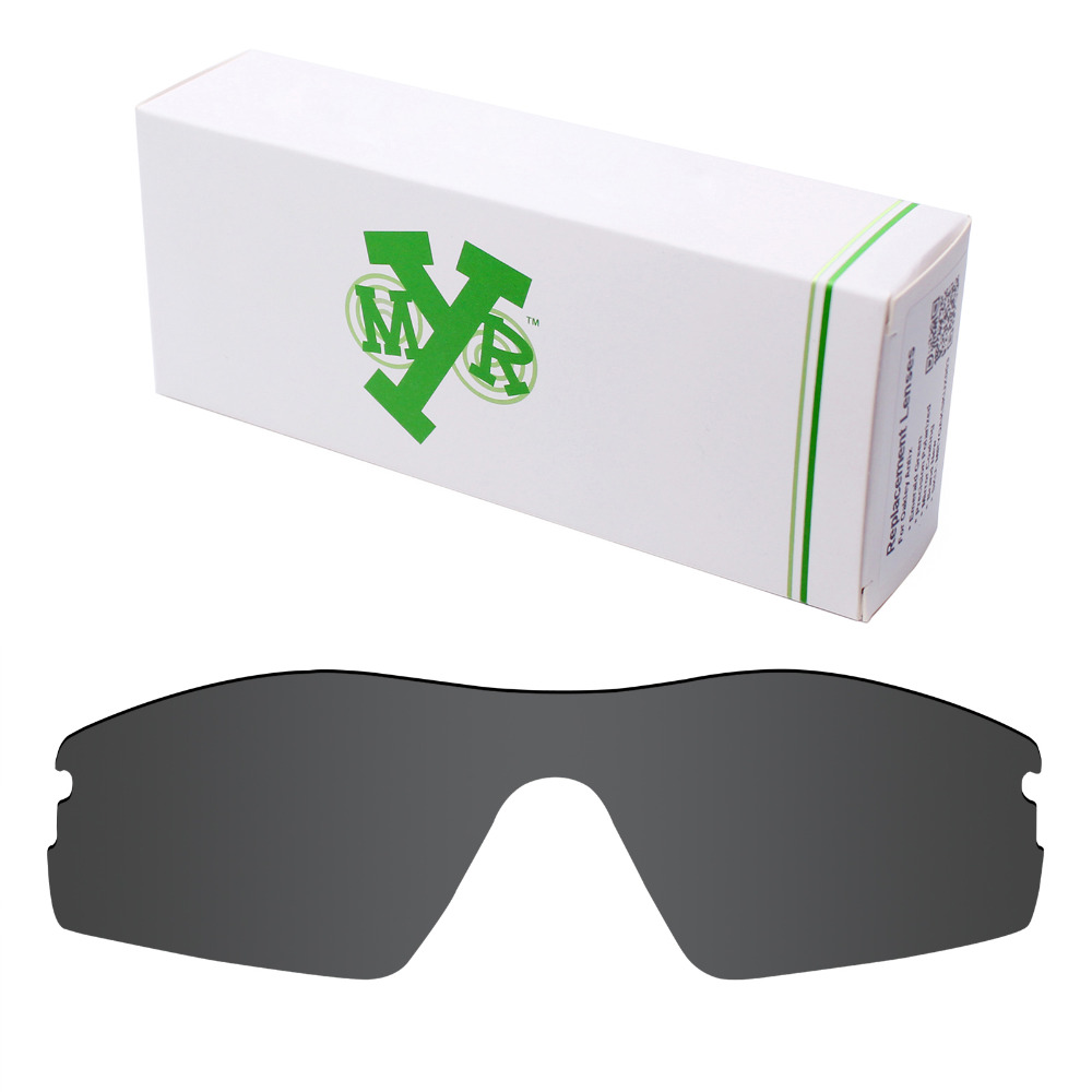 Mryok Anti-Scratch POLARIZED Replacement Lenses for Oakley Radar Pitch Sunglasses Stealth Black
