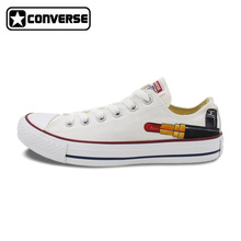 Low Top Converse Chuck Taylor Women Men Shoes Lipstick Design Custom Hand Painted Canvas Sneakers Women Man Christmas Gifts