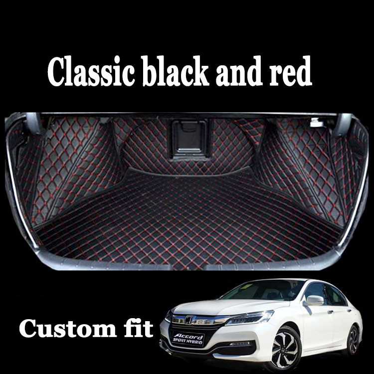 Custom fit автомобилей коврик багажного отделения для honda crv cr elysion Vezel Fit Город Civic Spirior Accord Odyssey стайлинга автомобилей грузовых лайнер