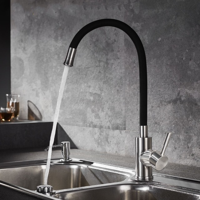Single Handle Kitchen Sink Water Faucet,Hot and Cold Water Faucet ...