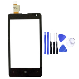 Image 5 - For Nokia Microsoft Lumia 435 532 N435 N532 Touch Screen Sensor LCD Display Digitizer Glass Touch Panel Replacement