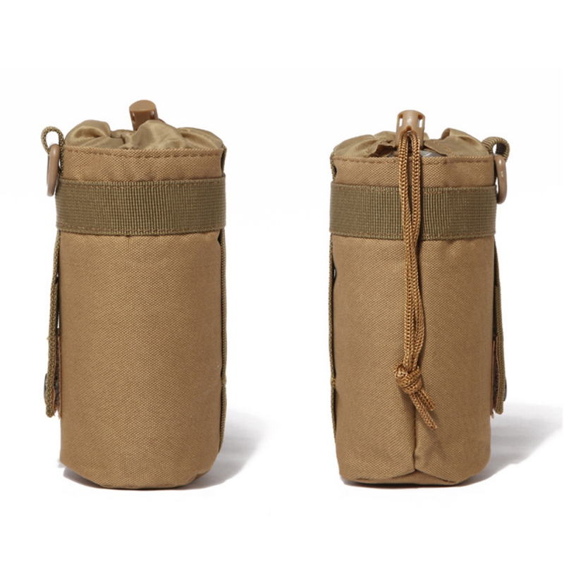 Image 4 - 550ML Water Bottle Pouch Tactical Molle Kettle Pouch Pocket Water Bottle Holder Army Gear Bag 6 Colors new-in Water Bags from Sports & Entertainment