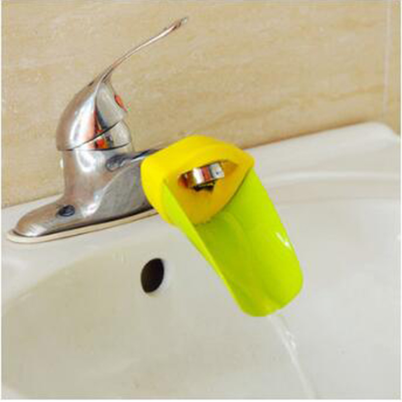Child protection watches kids Washing helper Child Guide sink faucet extender Wash hand auxiliary equipment ramdom color
