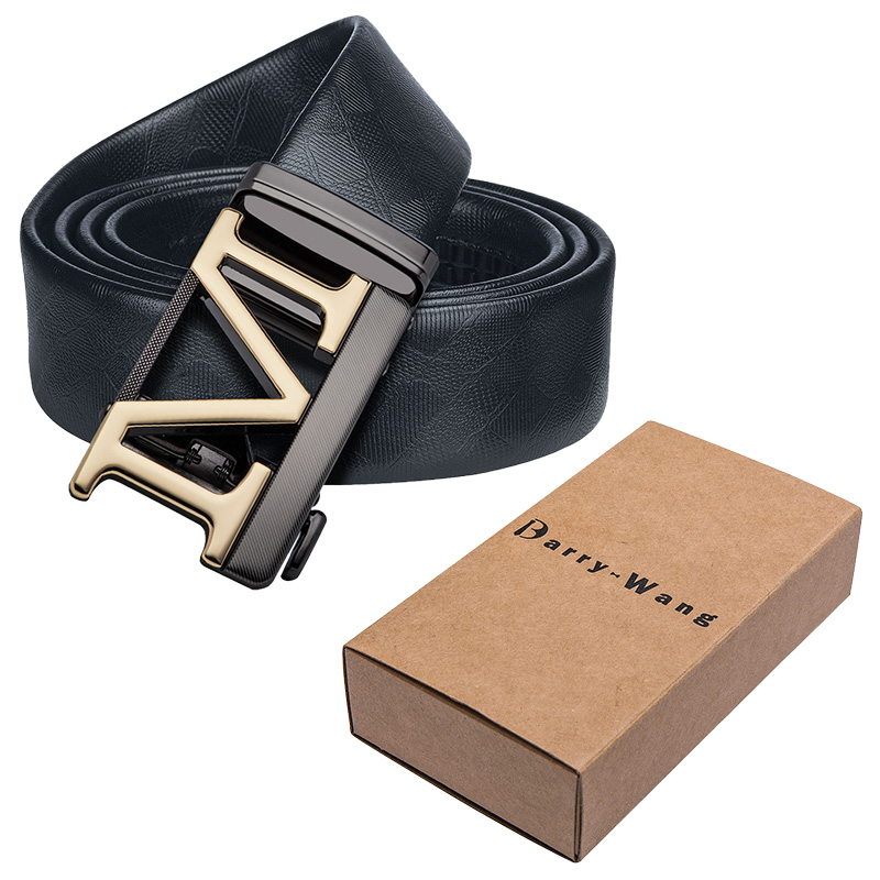 Barry.Wang PK-0058 2018 Fashion Mens' Belts Luxury Cow Leather Designer High Quality 110 Cm - 130 Cm Belts For Mens' Life