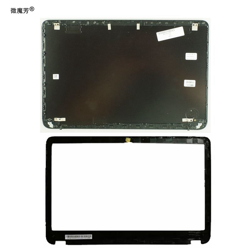 NEW Laptop LCD Back Cover/LCD front bezel for HP Envy 6 6-1000 692382-001 Black A and B case 7J260