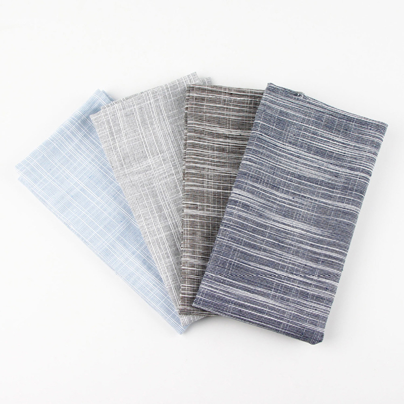 Flax Heat Insulation Mat Fashion Cloth Linen Cotton