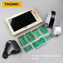 TKDMR TV160 7th TV Motherboard Tester Werkzeuge Vbyone & LVDS zu HDMI Konverter Mit Sieben Adapter Platte Kostenloser Versand