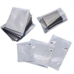 100pcs/Lot Anti Static Shielding Plastic Storage Packaging Bags ESD Anti-Static Pack Bag Open Top Antistatic Package Bag