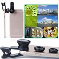 free shipping high quality universal 3 in 1 clip mobile phone camera lens