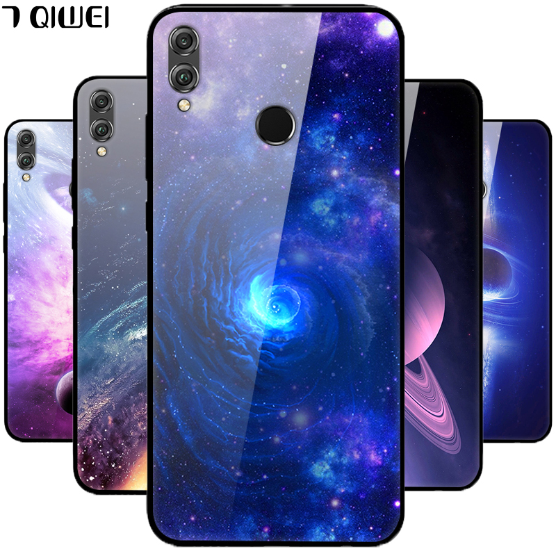 ᐂFor Huawei Honor 8X Case 6 5'' Tempered Glass Hard Back