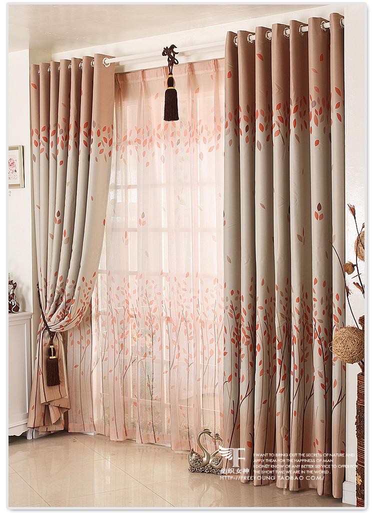 Textile goddess]Korean garden shade cloth curtains bedroom curtains ...