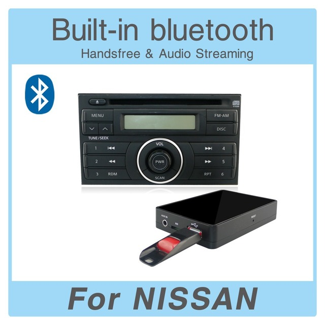US $78 5 |Car Radio USB AUX SD Card Adapter Bluetooth Interface MP3 Player  Digital CD Changer for Nissan Pathfinder 2005 2011-in Car MP3 Players from