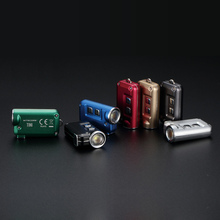 TOPSALE NITECORE TINI перезаряжаемые KeyButton мини фонарик Металлический Брелок Свет Встроенный батарея Открытый Поиск Бесплатная доставка