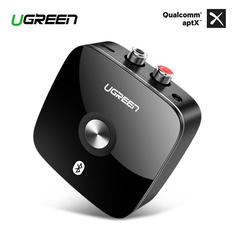 Receptor Bluetooth 4.2 2RCA Ugreen Jack de 3.5mm Aux Áudio Receptor de Música Adaptador Receptor Sem Fio para Fone De Ouvido Do Bluetooth Do Carro