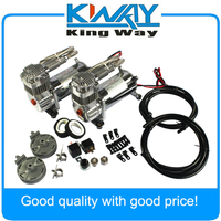 Brand New 12 Volt JDMSPEED Dual Chrome 440C 200 PSI Air Compressor Kit 440C