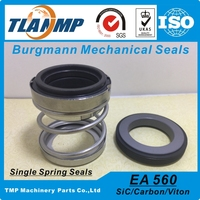 EA560 22 Shaft Size 22mm Burgmann Mechanical Seals For Industry Submersible Circulating Pumps Material SiC Carbon