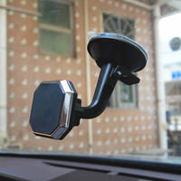 Soporte magnético de teléfono móvil para coche, montaje de salpicadero o parabrisas para iPhone Xs Max X Xr 8 7 6s
