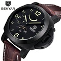 2016 nova benyar relógios mecânicos homens moda sports militar do exército relógios de mergulho 30 m relógios de pulso da marca de luxo relogio masculino